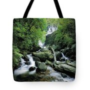 Torc Waterfall, Killarney, Co Kerry Tote Bag