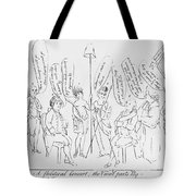 `treaty Of Paris, 1783 Tote Bag