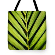 Tropical Palm Frond Tote Bag