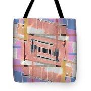 Urban Abstract San Diego Tote Bag