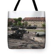 U.s. Soldiers Teach The Polish Military Tote Bag