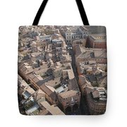 View Of Bologna From The Torre Degli Tote Bag