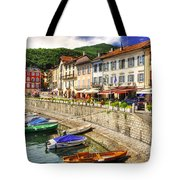 Village On The Lake Front Tote Bag