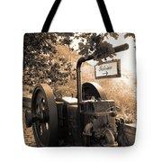 Vintage Machinery Tote Bag