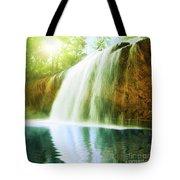 Waterfall Pool Tote Bag