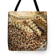Wheat Ears And Grain Tote Bag by Elena Elisseeva