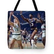 Wilt Chamberlain (1936-1999) Tote Bag
