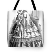 Womens Fashion. C1850s Tote Bag