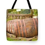 Wooden Barrels Tote Bag