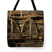 Wooden Lobster Traps Tote Bag