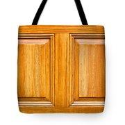Wooden Panels Tote Bag