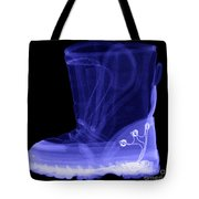 X-ray Of A Childs Light-up Boot Tote Bag