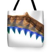 X-ray Of Shark Jaws Tote Bag