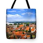 Zemun Rooftops In Belgrade Tote Bag