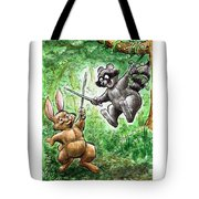 20 - Jennings State Forest - Sword Play Tote Bag