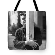 Silent Still: Single Man Tote Bag