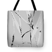 Water Reed Digital Art Tote Bag