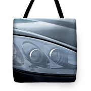 2002 Chevrolet Corvette Head Light Tote Bag