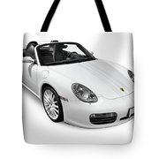 2008 Porsche Boxster S Sports Car Tote Bag