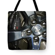 2011 Chevrolet Camaro Wheel Tote Bag