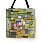 2012 Abstract Line Series Xx Tote Bag