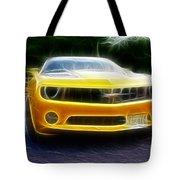 2012 Chevrolet Camaro Rs Tote Bag