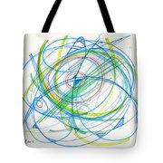 2012 Drawing #11 Tote Bag