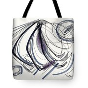2012 Drawing #17 Tote Bag