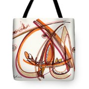 2012 Drawing #8 Tote Bag