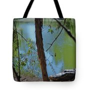 21- King Of The Swamp Tote Bag