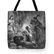 Pocahontas (1595?-1617) Tote Bag