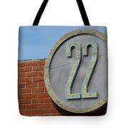 22 Sign Tote Bag