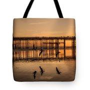 Hastings Pier Tote Bag