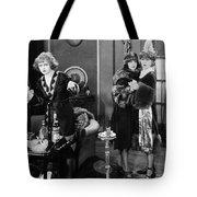 Silent Film Still: Drinking Tote Bag
