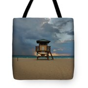26- Storm Front Tote Bag
