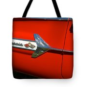 1960 Chevy Impala Convertable Tote Bag