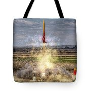 3 2 1 Launch Tote Bag