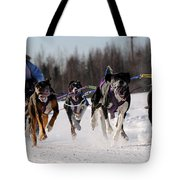 2011 Limited North American Sled Dog Race Tote Bag