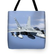 A Cf-188a Hornet Of The Royal Canadian Tote Bag