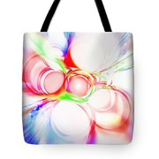 Abstract Of Circle  Tote Bag by Setsiri Silapasuwanchai