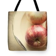 3 Apples Tote Bag