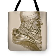Aristotle, Ancient Greek Philosopher Tote Bag