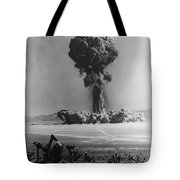 Atomic Bomb Explosion Tote Bag