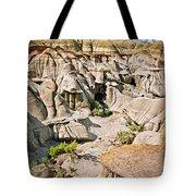 Badlands In Alberta Tote Bag