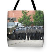 Belgian Infantry Soldiers Training Tote Bag