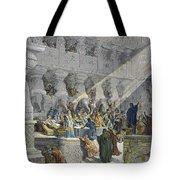 Belshazzars Feast Tote Bag