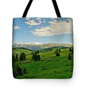Bridger Mountain View Tote Bag