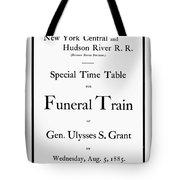 Burial Of Ulysses S. Grant Tote Bag
