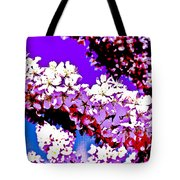 Cherry Blossom Art Tote Bag