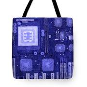 Circuit Board Tote Bag